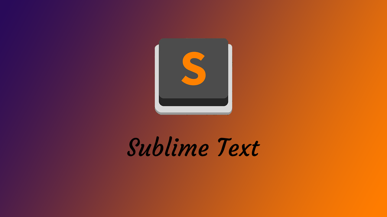 Banner Sublime Text